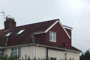 A large pitch roof wrap around loft conversion in Bristol