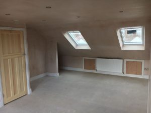 In Progress Interior Loft Conversion