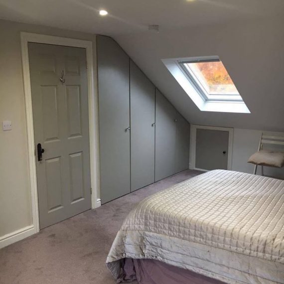 A bedroom loft conversion