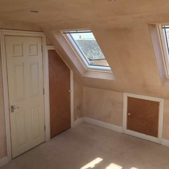 A standard Loft Conversion in Bristol