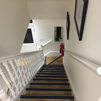 Stairs to a loft conversion in Bristol