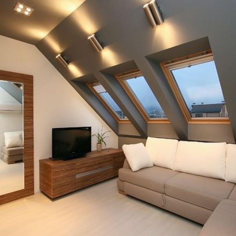 Photo of an internal grey loft conversion in Bristol
