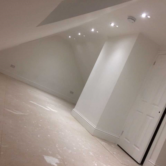Interior of a loft conversion in Bristol