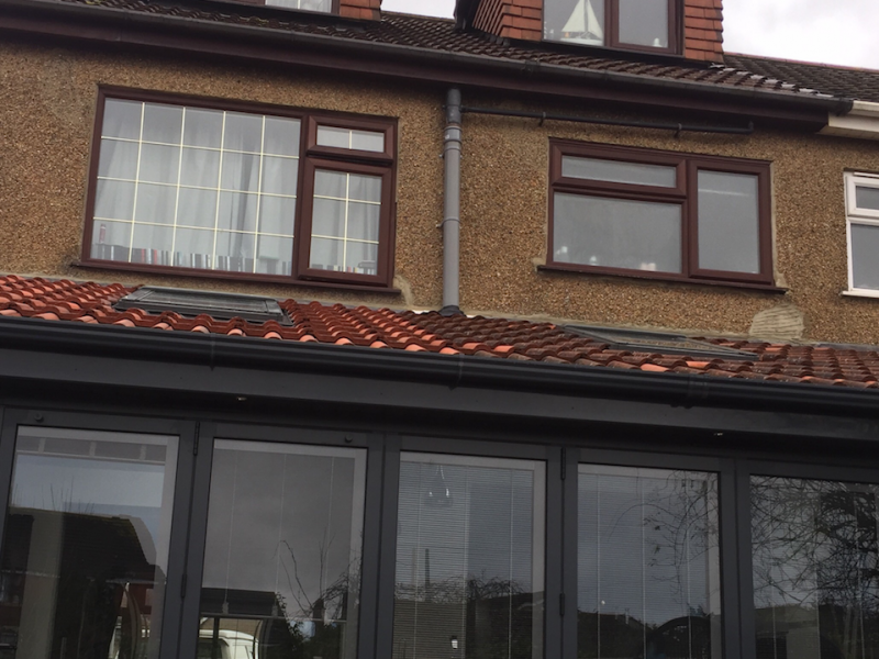 A doubled pitched roof loft conversion in Bristol