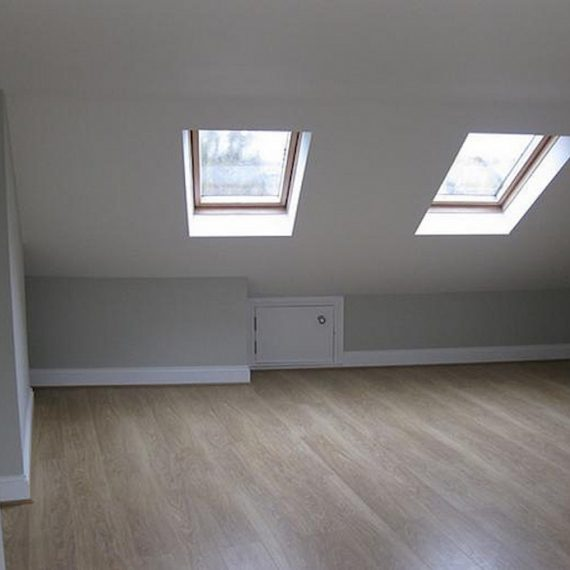 A modern and light Velux loft conversion in Bristol