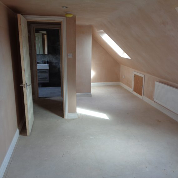 Internal of a Loft Conversion in Bristol